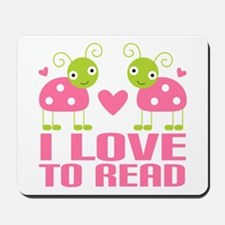 Ladybug I Love To Read Mousepad