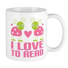 Ladybug I Love To Read Mug