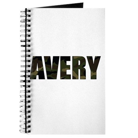 Camo Avery Journal