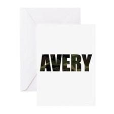 Camo Avery Greeting Cards (Pk of 20)
