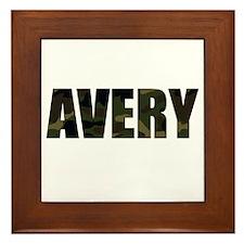 Camo Avery Framed Tile