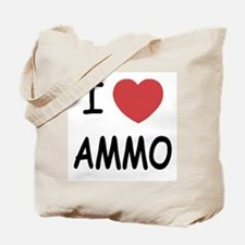 I heart ammo Tote Bag
