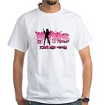 PMS You've Been Warned White T-Shirt