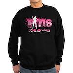 PMS You've Been Warned Sweatshirt (dark)