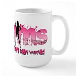 PMS You've Been Warned Large Mug