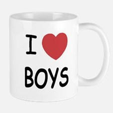 I heart boys Mug