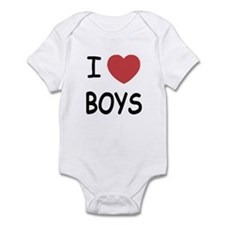 I heart boys Infant Bodysuit