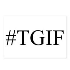 #TGIF Postcards (Package of 8)