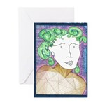 Madge Letting Go Greeting Cards (Pk of 20)
