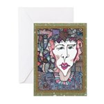 Sam in the Middle Greeting Cards (Pk of 10)