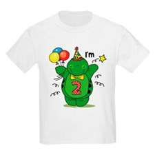 Happy Turtle 2nd Birthday T-Shirt