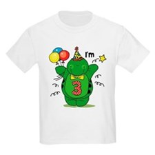 Happy Turtle 3rd Birthday T-Shirt