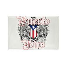 Puerto rican pride Rectangle Magnet