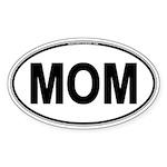 MOM Oval Sticker (Oval 10 pk)