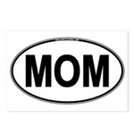 MOM Oval Postcards (Package of 8)