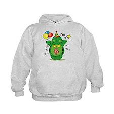Happy Turtle 6th Birthday Hoodie