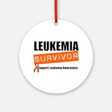 Leukemia Survivor Ornament (Round)