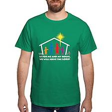 MyHouseFamily-black 2 T-Shirt