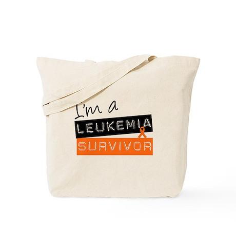 I'm a Leukemia Survivor Tote Bag