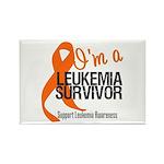 I'm a Leukemia Survivor Rectangle Magnet