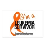I'm a Leukemia Survivor Postcards (Package of 8)