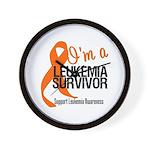 I'm a Leukemia Survivor Wall Clock