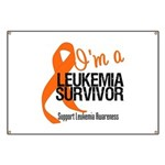 I'm a Leukemia Survivor Banner