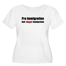 Pro Immigration Anti illegal T-Shirt
