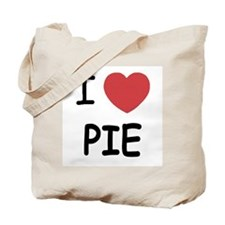 I heart pie Tote Bag
