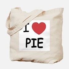 I heart pie Tote Bag