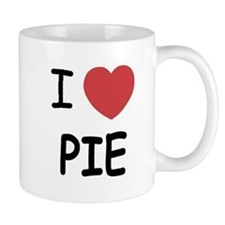 I heart pie Mug