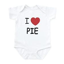 I heart pie Infant Bodysuit