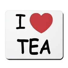 I heart tea Mousepad