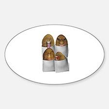 Unique Tuber Sticker (Oval)