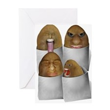 Funny Spuds Greeting Card