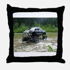 TUNDRA RIVER CROSSING Throw Pillow