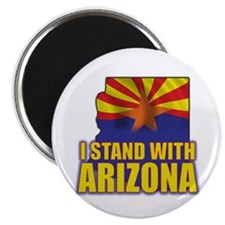 "I stand with Arizona 2.25"" Magnet (10 pack)"