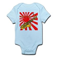 BandNerd.com Grunge Anime Sax Infant Bodysuit