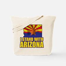 I stand with Arizona Tote Bag
