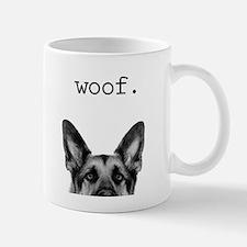 woof Small Small Mug