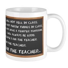 I AM THE TEACHER 1 Mug