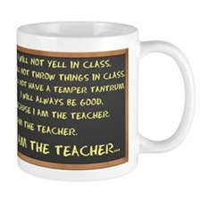 I AM THE TEACHER 2 Mug
