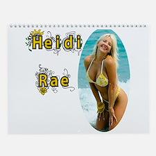 Heidirae Sexy Bikini Girl 2016 Wall Calendar