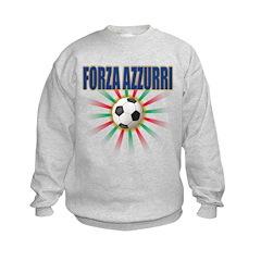 2010 World Cup Italia Kids Sweatshirt