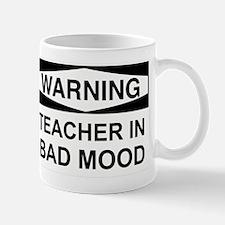 Warning Teacher 3 Mug