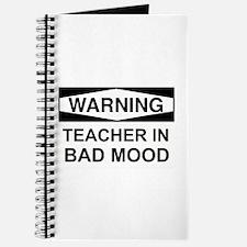 Warning Teacher 3 Journal