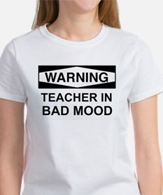 Warning Teacher 3 Tee