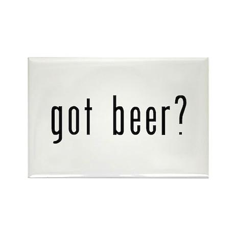 got beer? Rectangle Magnet