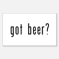 got beer? Decal