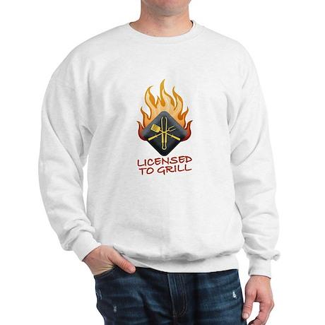 Grill Master Sweatshirt